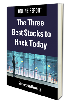 The Three Best Stocks to Hack Today report cover